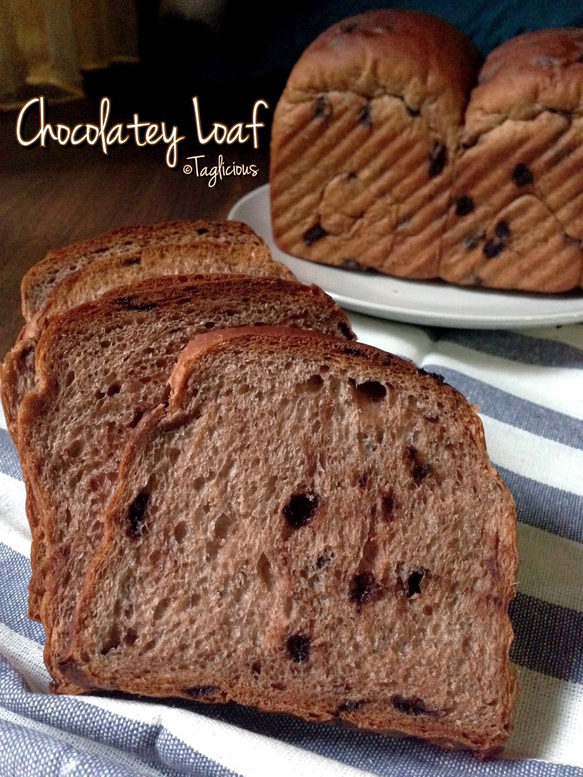 Taglicious Super Soft Amp Chewy Chocolatey Bread